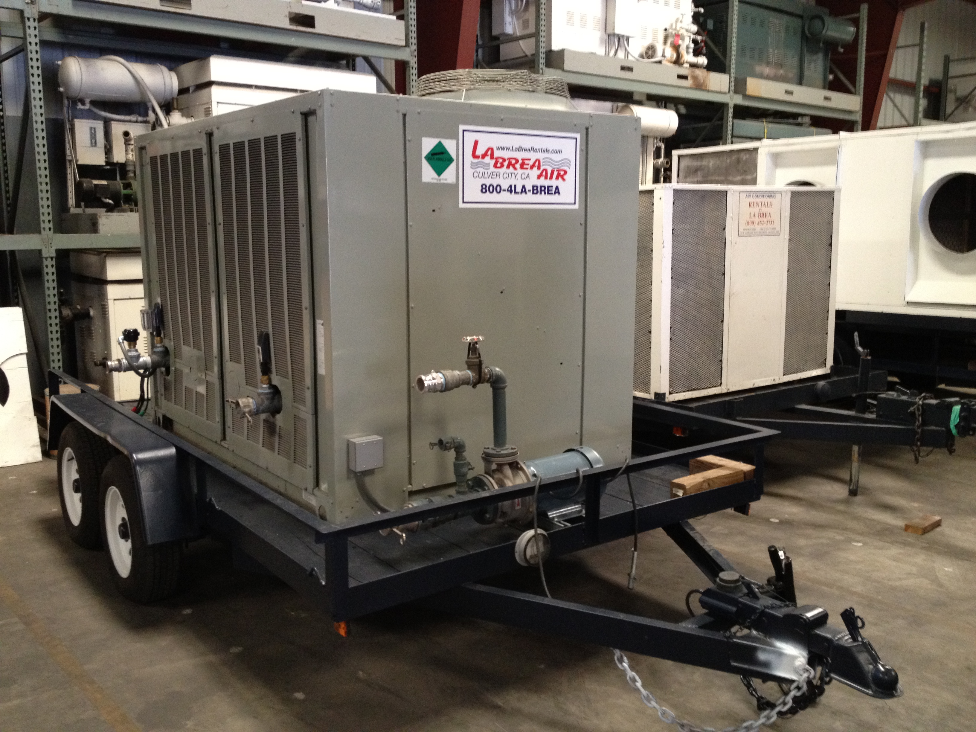 Air Cooled Chiller 40 60 Ton